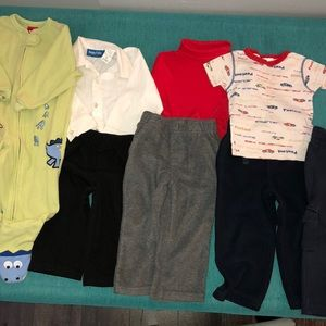 Other - 4 pairs of pants, 1 PJ, 1 pair of sweats size 2T